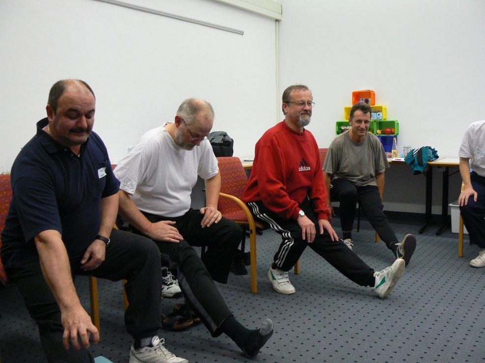 Seminar Ältere Bewegung für Ältere, Gesundheitsförderung für ältere Mitarbeiter